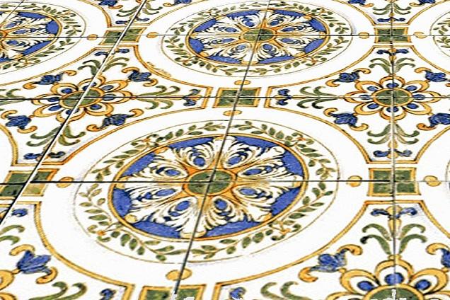 Pavimenti in maiolica - Made a mano piastrelle ...