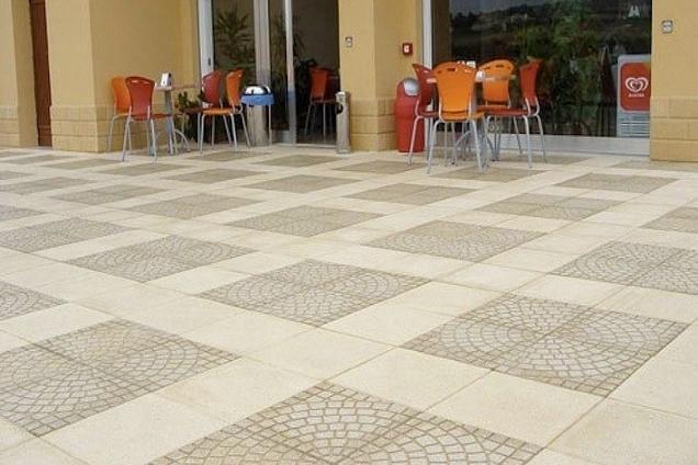 Pavimenti per esterni pavimenti in cementina - Piastrelle in cemento per esterno ...