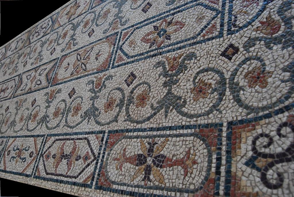 La bottega delle arti antiche pavimenti per esterno in marmo e cotto - Mosaico per esterno ...