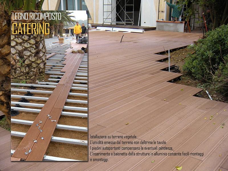 Pavimento in legno per esterni prezzi affordable pavimento stampato with pavimento in legno per - Pavimento esterno finto legno ...