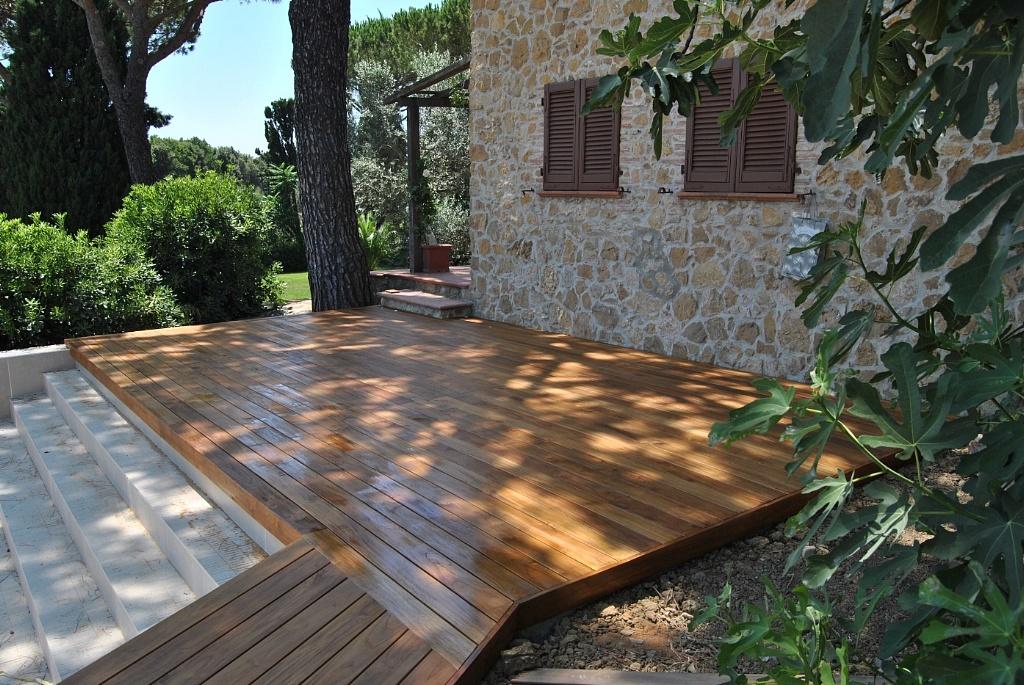 Valex parquet livorno teak for Pavimento legno esterno ikea