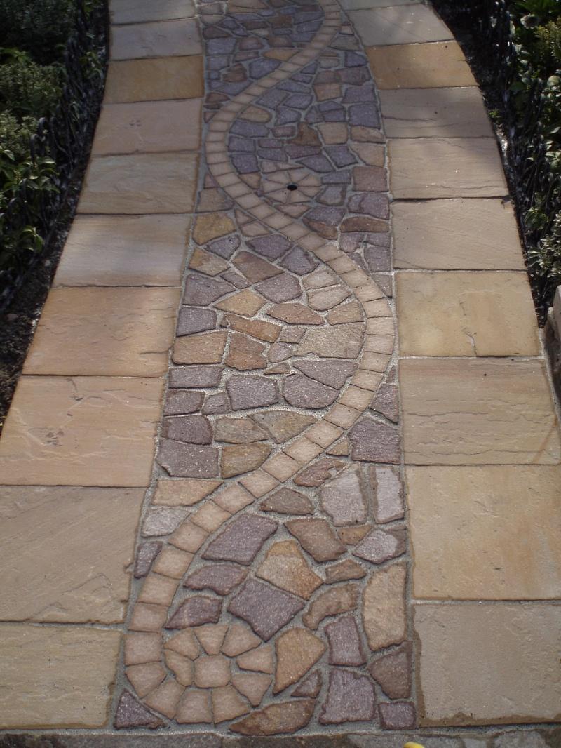 Pavimento mosaico esterno id es de design d 39 int rieur for Mosaici pavimenti interni