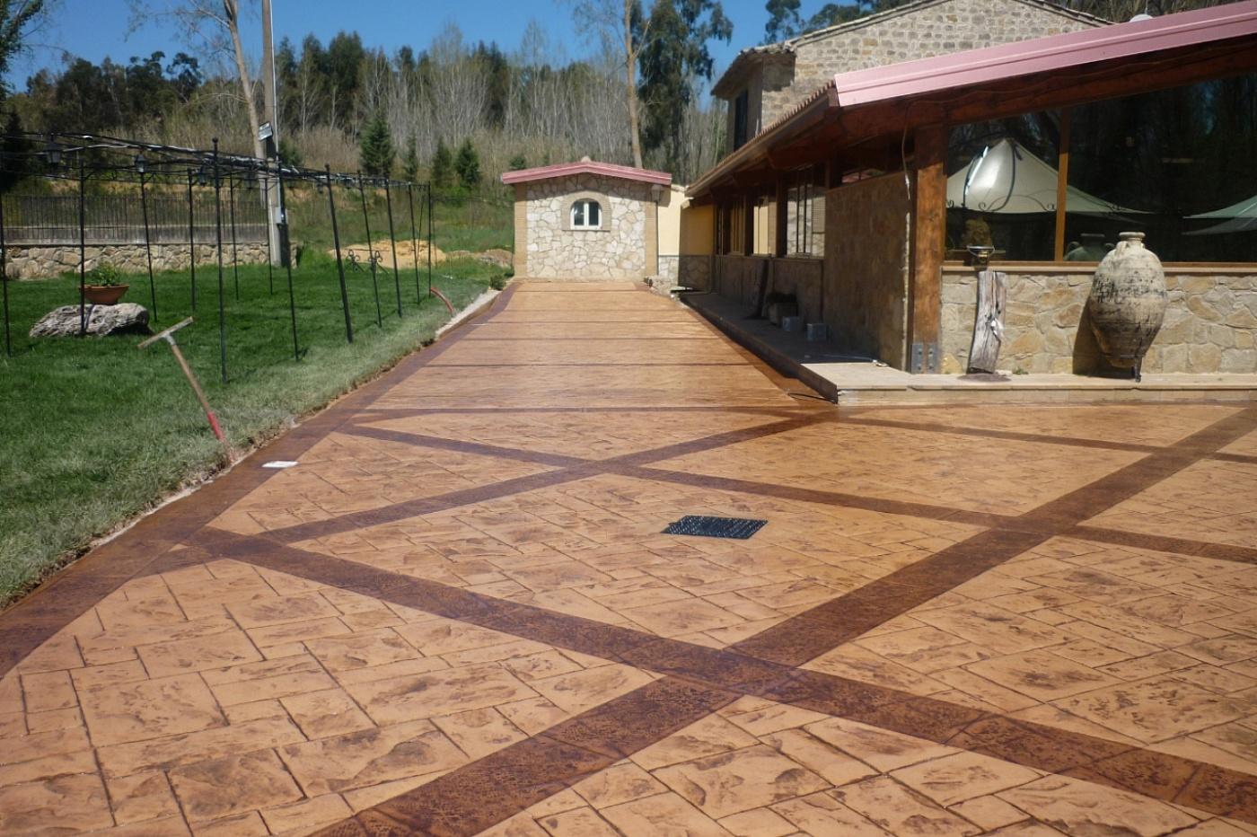Calcestruzzo colorato per pavimenti