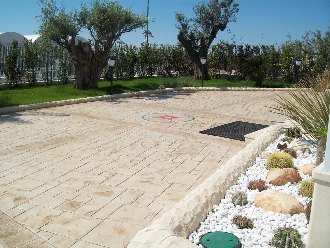 Calcestruzzo Stampato Per Esterni : Stonesud s.a.s. pavimenti in calcestruzzo stampato