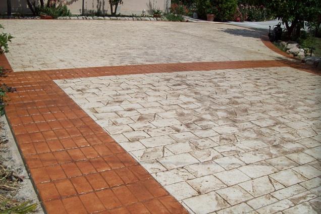 Calcestruzzo Stampato Sicilia : Pavimenti per esterni pavimenti stampati in sicilia