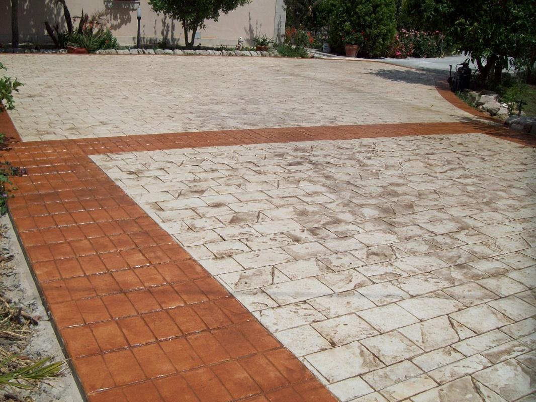 Pavimento Calcestruzzo Stampato : Pavimentazione in calcestruzzo stampato pavimento stampato stone