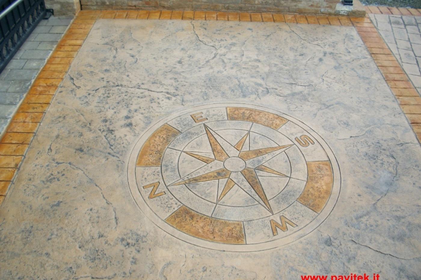 Pavimenti In Cemento Stampato : Index of img pavimento cemento stampato effetto pietra porfido