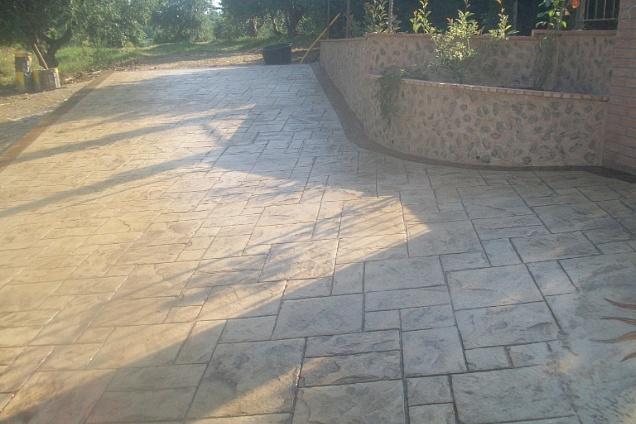 Pavimenti speciali avorio in calabria - Pavimenti stampati per esterni ...