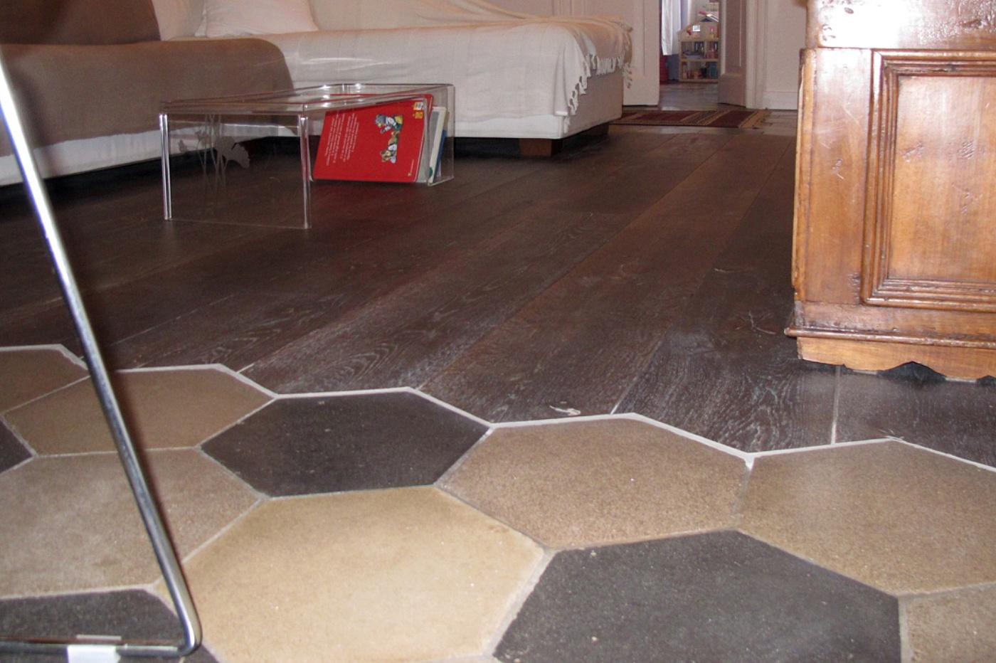 Floor treatment pavimento in cementine liberty - Parquet per cucina e bagno ...