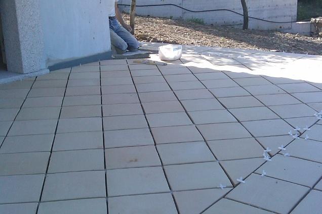 Posatori pavimenti pavimenti in cotto - Posa piastrelle in diagonale ...