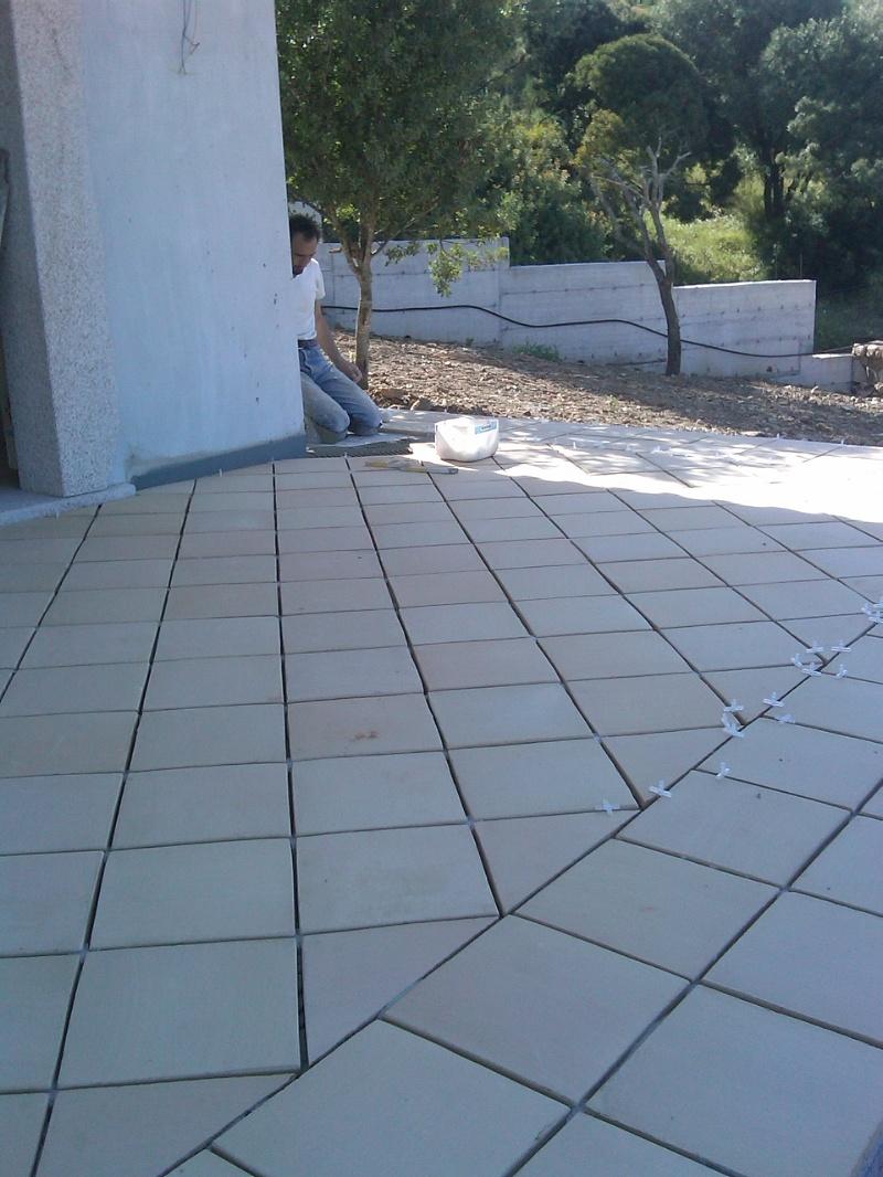 Progress pavi soc coop posa in opera di cotto - Posa pavimento esterno su cemento ...