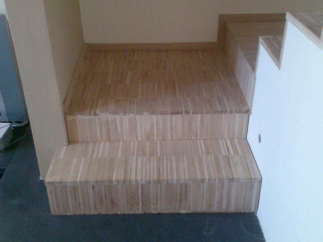 Legno in parquet da vivere rivestimento scala for Rivestire una scala in legno