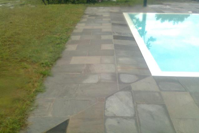 Posatori pavimenti pavimenti in marmo pietra in bergamo - Piastrelle bordo piscina ...