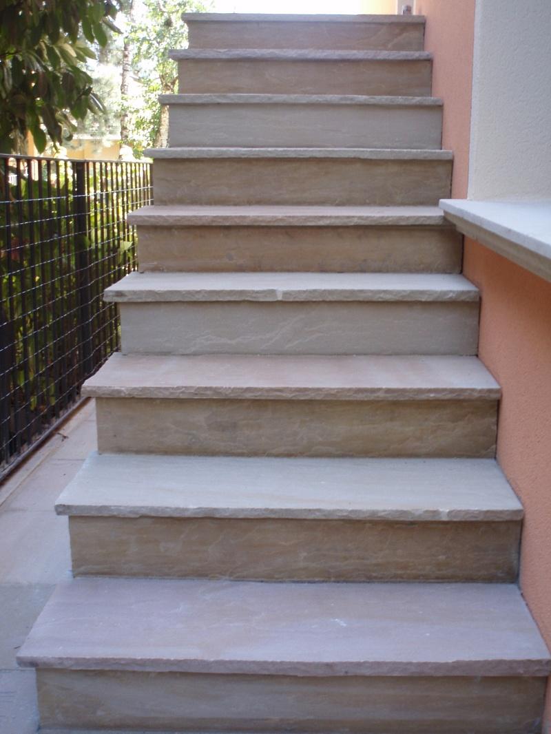 scala in pietra serena interna : ... pietra serena pietra di credaro granito marmo luserna ciotoli ecc