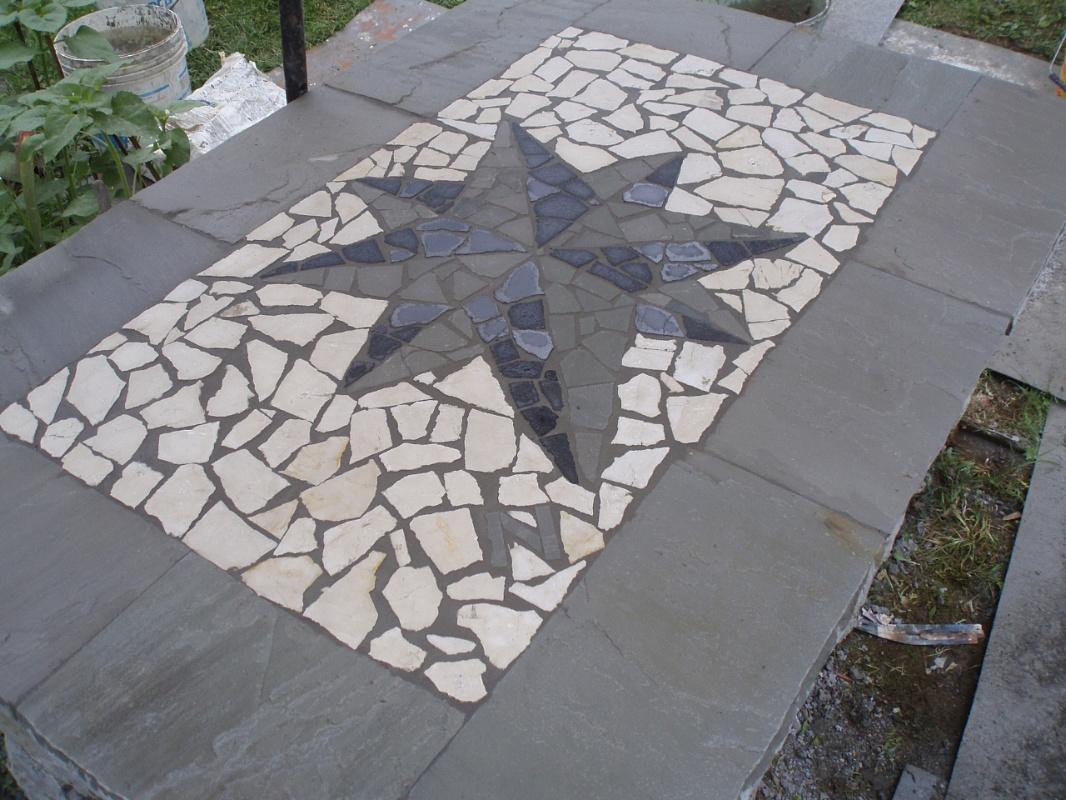 Pavimenti Mosaico. Perfect Pavimento In Cemento Mosaico Rosso With Pavimenti Mosaico. Mosaico Di ...