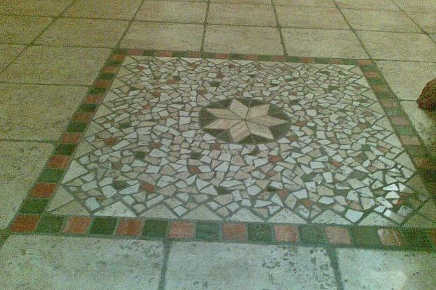 Pavimenti In Cotto Con Mosaico : Mosaico « artigiani del cotto