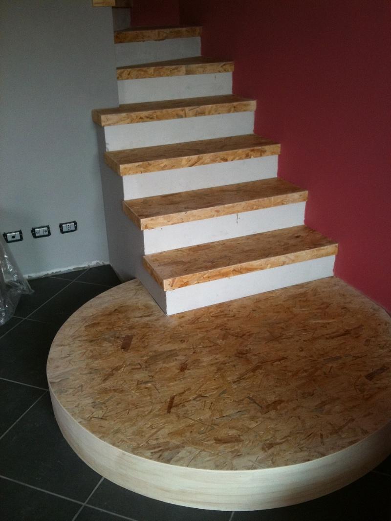 Legno in parquet da vivere rivestimento scala - Rivestimento in legno per scale ...