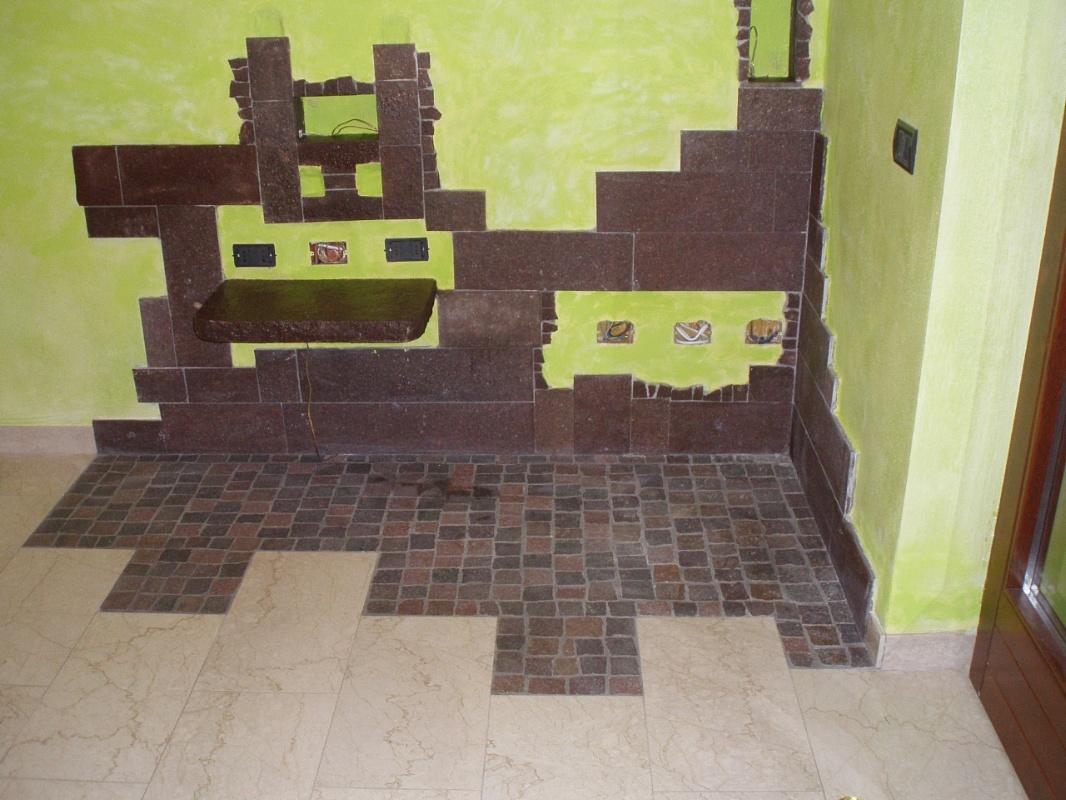 Picaprede di darkin maffi rivestimento interno for Rivestimento parete interna