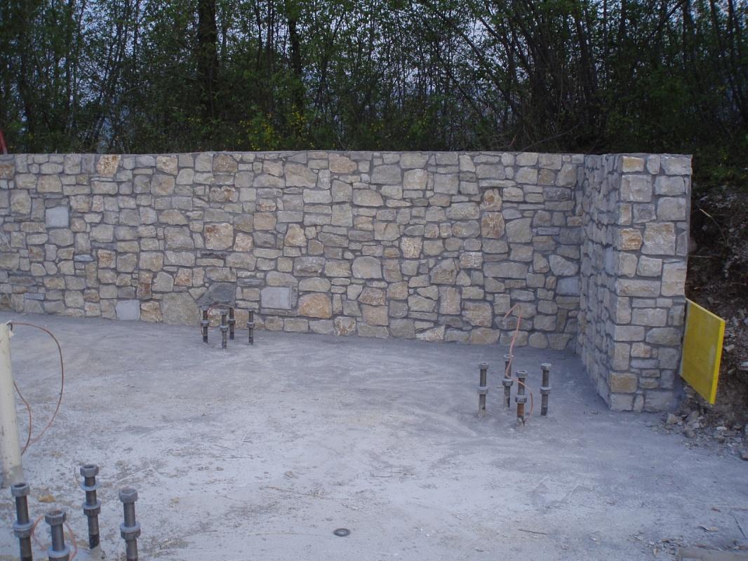 Piastrelle da muro esterno trendy pavimento esterno canada grigio xx cm pei r gres with - Piastrelle muro pietra ...