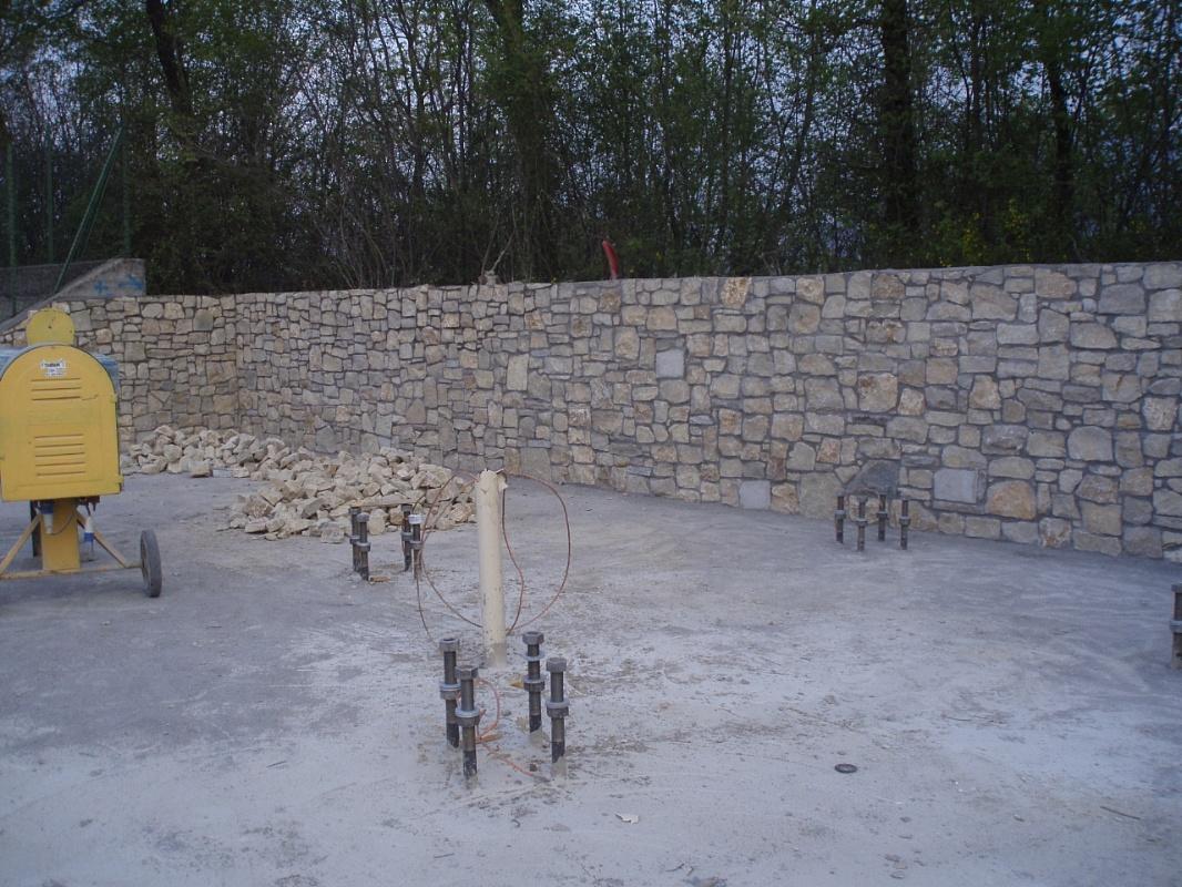 Picaprede di darkin maffi rivestimento muro in sassi - Rivestimento muro cucina ...
