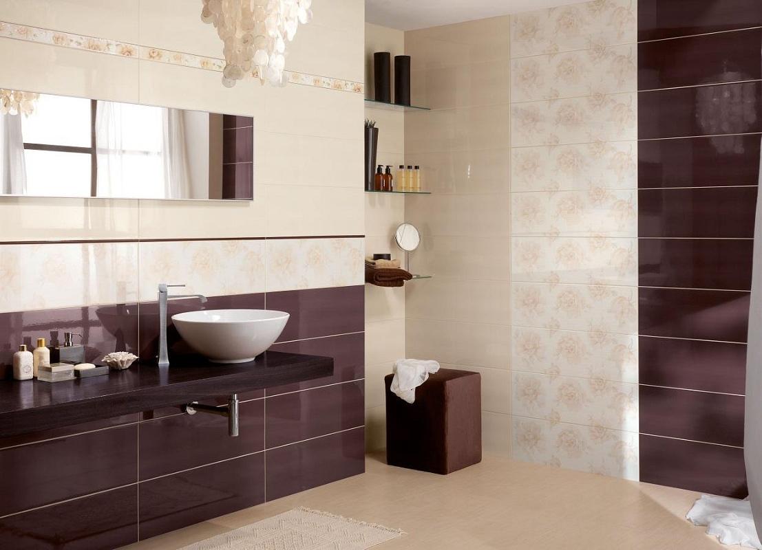 Bagno marrone e bianco [tibonia.net]