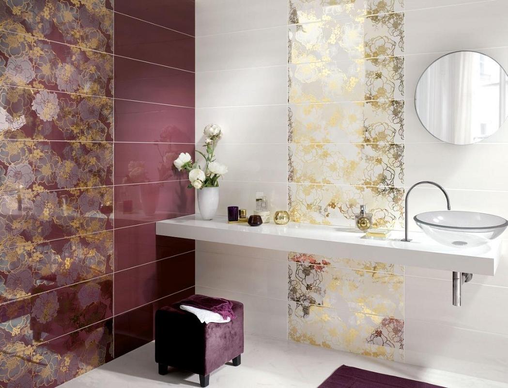 Ceramiche supergres petali 25x75 for Ceramiche bagno