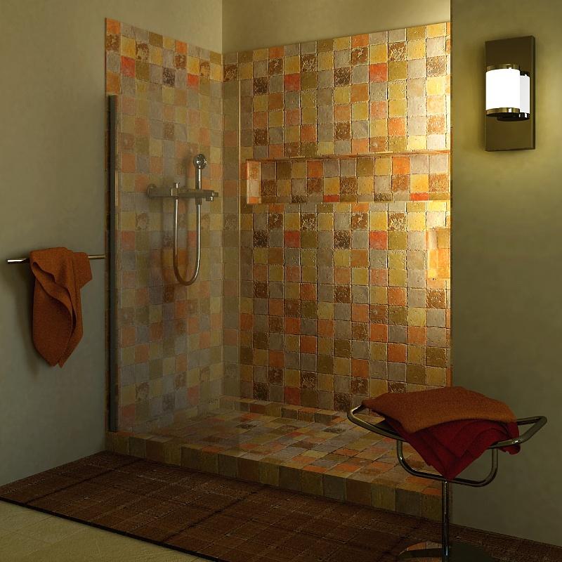 Cotto etrusco by materia srl cotto etrusco miscele di colore - Una piastrella policroma per rivestimenti ...