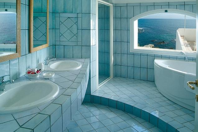 rivestimenti in resina trovano nella stanza da bagno una perfetta ...