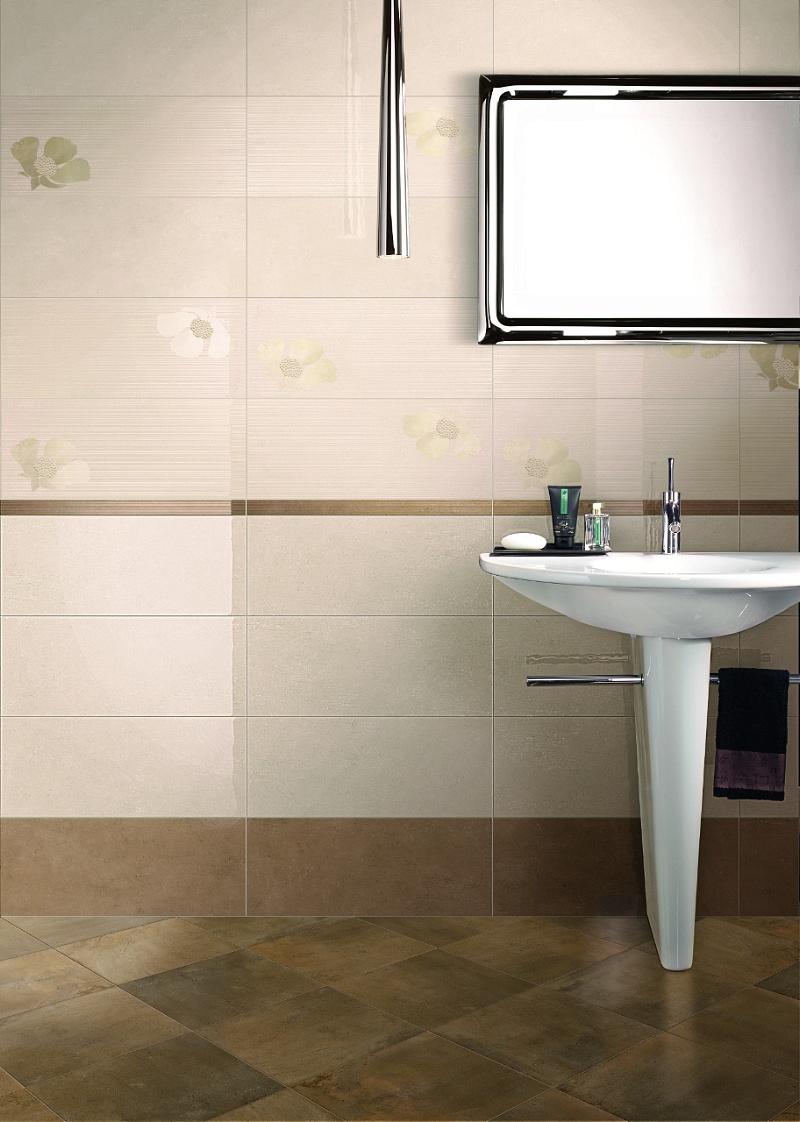 Piastrelle Bagno Bianco E Grigio: Bagno bianco e grigio chiaro scuro paviment...