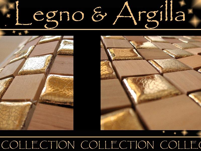 Gaiardoni Piergiorgio - mosaico oro/legno | >> TrovaPavimenti.it