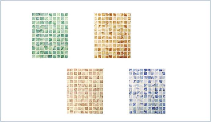 Finto Mosaico Bagno Idee Per La Casa Douglasfallscom
