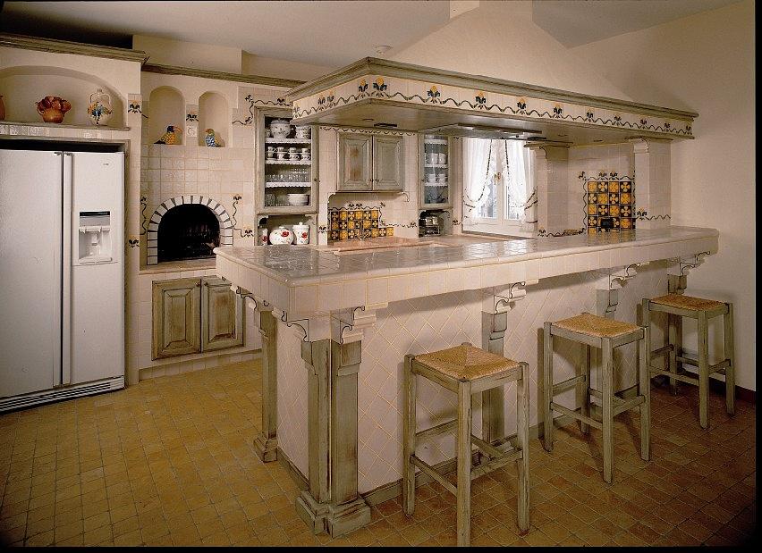 Acquario cucine in muratura - Cucine particolari in muratura ...
