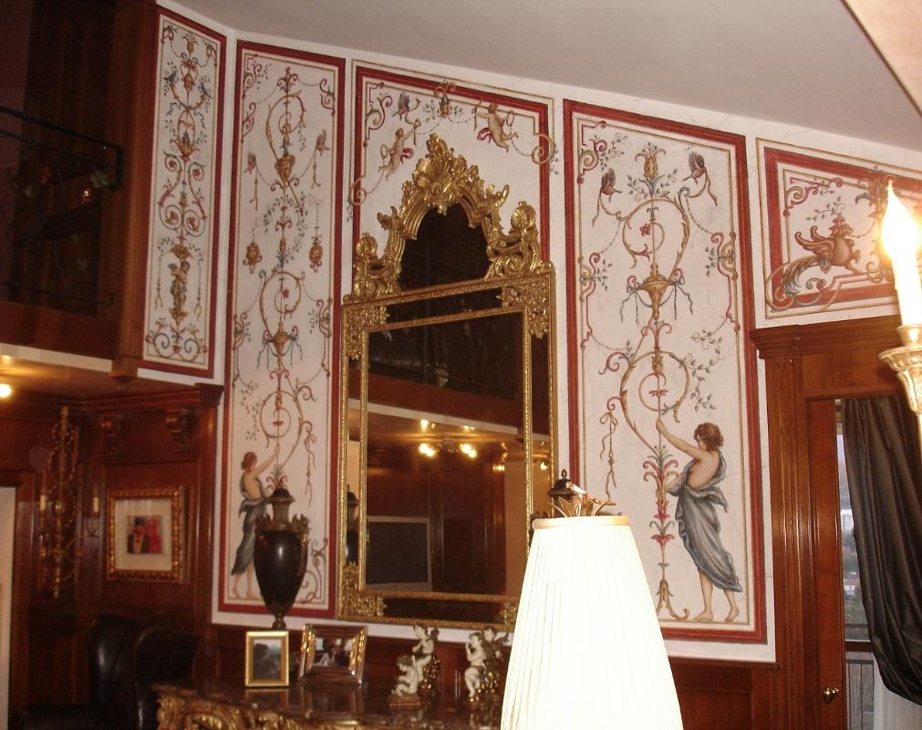 La bottega delle arti antiche decorazioni e affreschi - Decorazioni grottesche ...