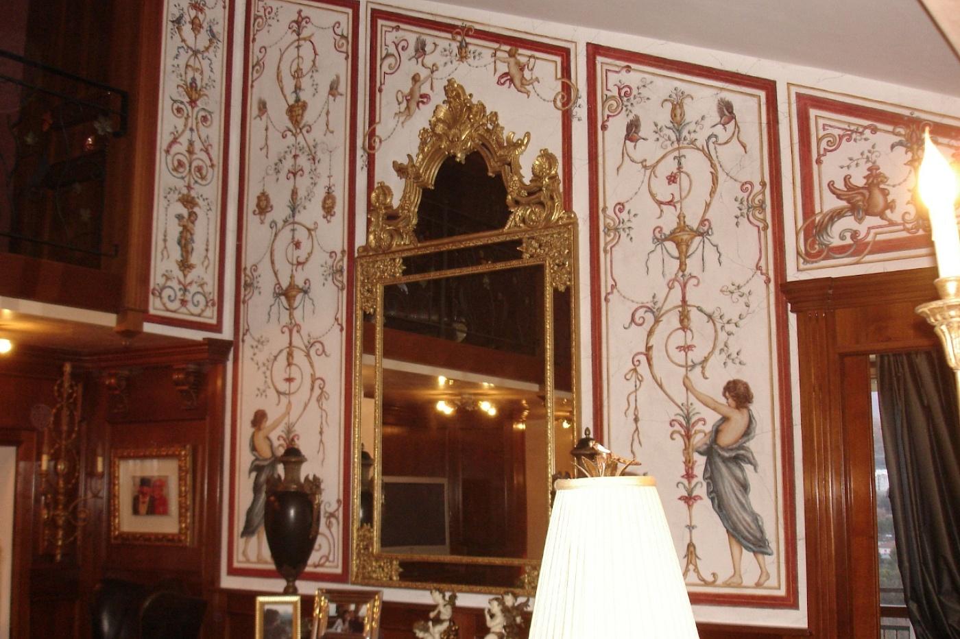 La bottega delle arti antiche decorazioni e affreschi - Decorazioni interni pareti ...