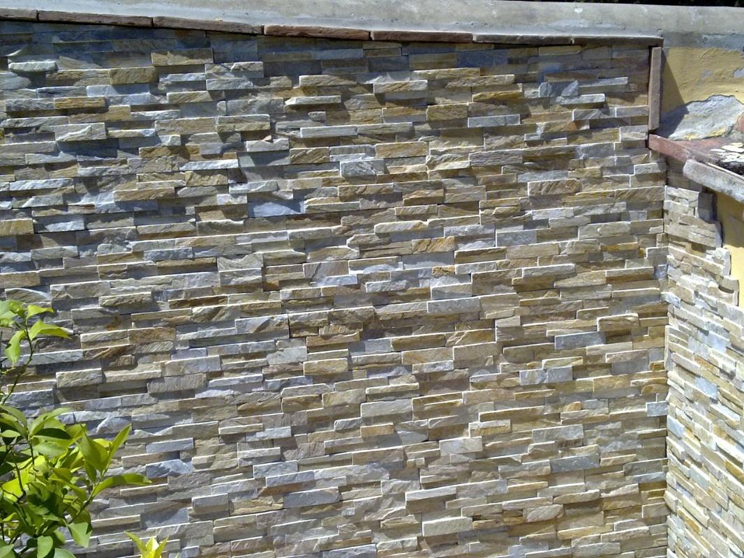 P a pavimenti artistici srl rivestimenti muri colonne - Rivestimenti per esterno in pietra ...