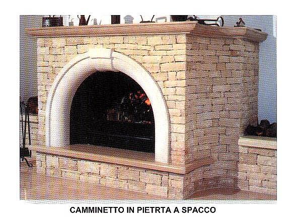 P a pavimenti artistici srl rivestimenti muri colonne camini - Caminetti per esterno ...