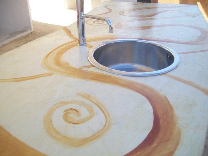 Pittura x corridoio casa pavimento chiaro - Bagno cemento spatolato ...