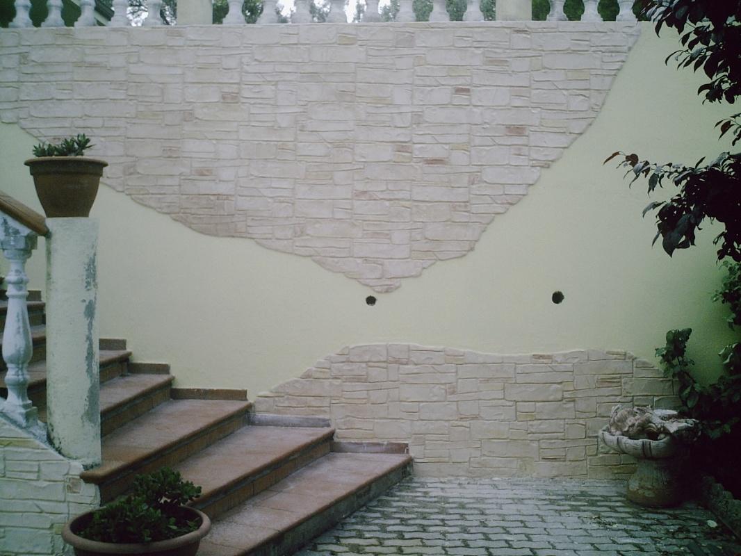 Piastrelle da muro esterno free cultura della pietra della parete per di with piastrelle da - Piastrelle muro pietra ...